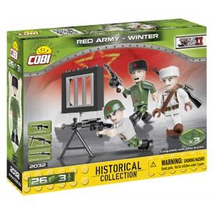 """Figurky """"Rudá armáda - zimní"""""""